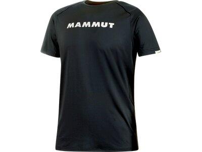 MAMMUT Herren T-Shirt Splide Logo Schwarz