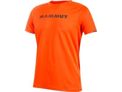 MAMMUT Herren T-Shirt Splide Logo Orange