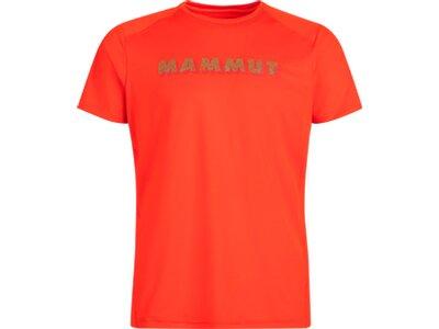 MAMMUT Herren Splide Logo T-Shirt Men Rot