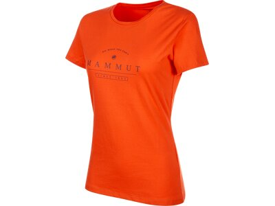 MAMMUT Damen T-Shirt Seile Orange