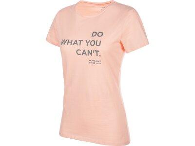 MAMMUT Damen T-Shirt Seile Pink