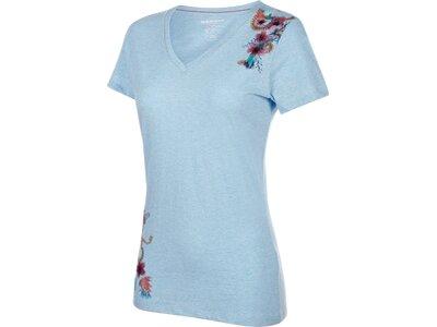 MAMMUT Damen T-Shirt Zephira Blau