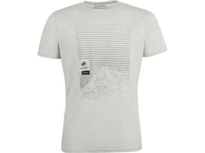 MAMMUT Herren Alnasca T-Shirt Men Silber