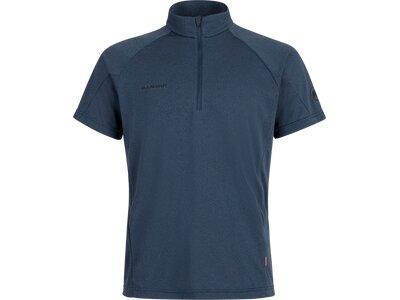 MAMMUT Herren Aegility Half Zip T-Shirt Men Blau