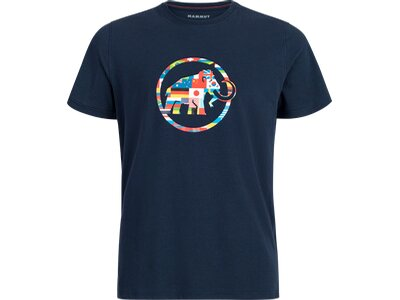 MAMMUT Herren Nations T-Shirt Men Blau