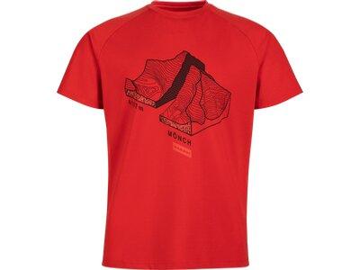 "MAMMUT Herren Bergsport T-Shirt ""Mountain"" Rot"