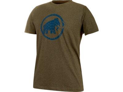 MAMMUT Herren T-Shirt Trovat Braun