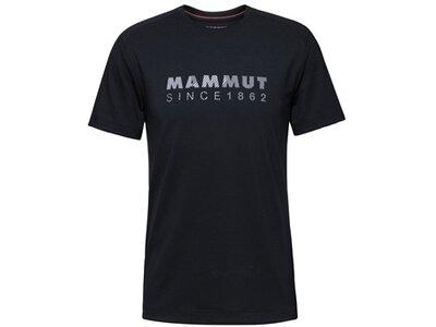 MAMMUT Herren Shirt Trovat T-Shirt Men Schwarz