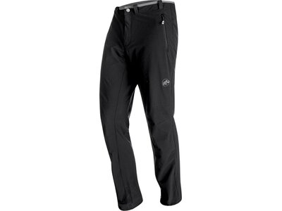 MAMMUT Herren Softshellhose / Trekkinghose Runbold Trail SO Pants Men Schwarz
