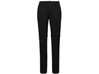 MAMMUT Damen Hose Runbold Zip Off Pants Women Schwarz