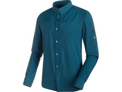 MAMMUT Herren Hemd Trovat Advanced Longsleeve Shirt Blau