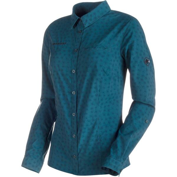 MAMMUT Damen Wanderbluse Trovat Advanced Longsleeve Shirt Women