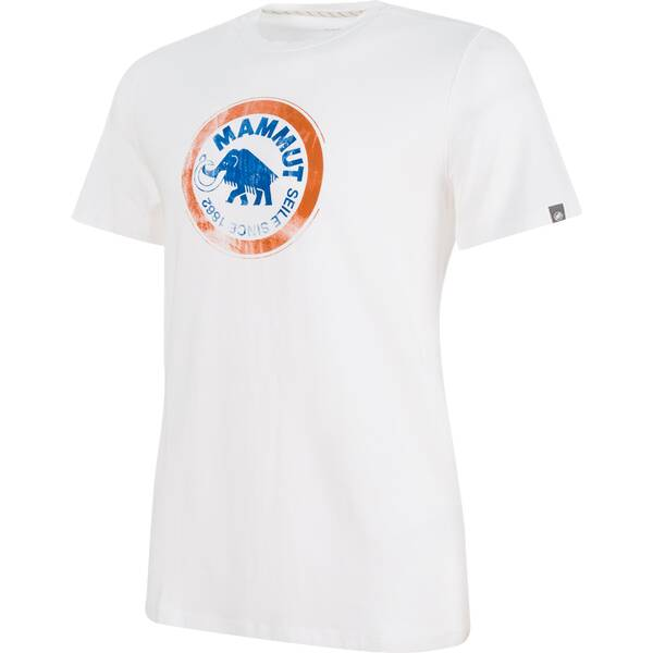 MAMMUT Herren Klettershirt Seile Kurzarm | Sportbekleidung > Sportshirts > Klettershirts | White | Pvc | MAMMUT