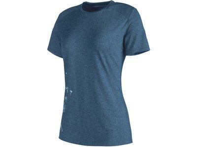 MAMMUT Damen Shirt Trovat T-Shirt Grau