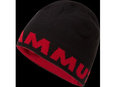 MAMMUT Herren Beanie Mammut Logo Schwarz