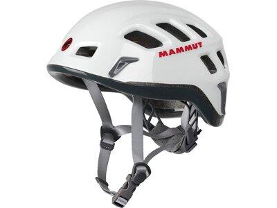 MAMMUT Kletterhelm Rock Rider Grau