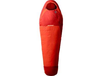 MAMMUT Schlafsack Kompakt Down Spring Rot