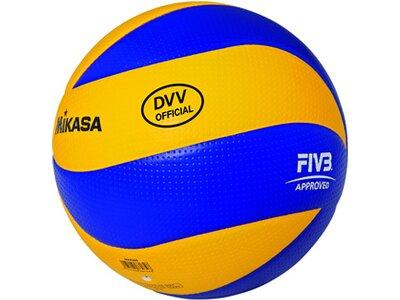 MIKASA Volleyball MVA 200 DVV Braun