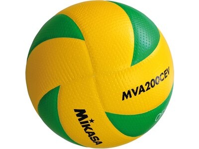 MIKASA Volleyball MVA 200-CEV Braun