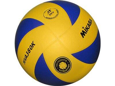 MIKASA Volleyball MVA 380K Blau