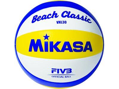 MIKASA Beachvolleyball Beach Classic VXL30 Weiß