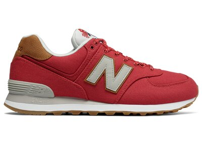 NEW BALANCE Herren Sneaker 574 Rot