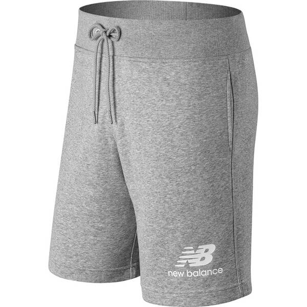 NEW BALANCE Herren Shorts ESSENTIALS STACEKD LOGO