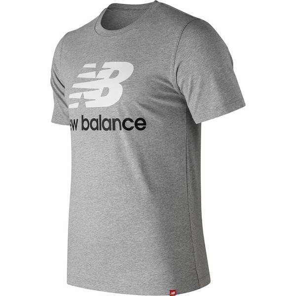 NEW BALANCE Herren T-Shirt ESSENTIALS STACKED LOGO T