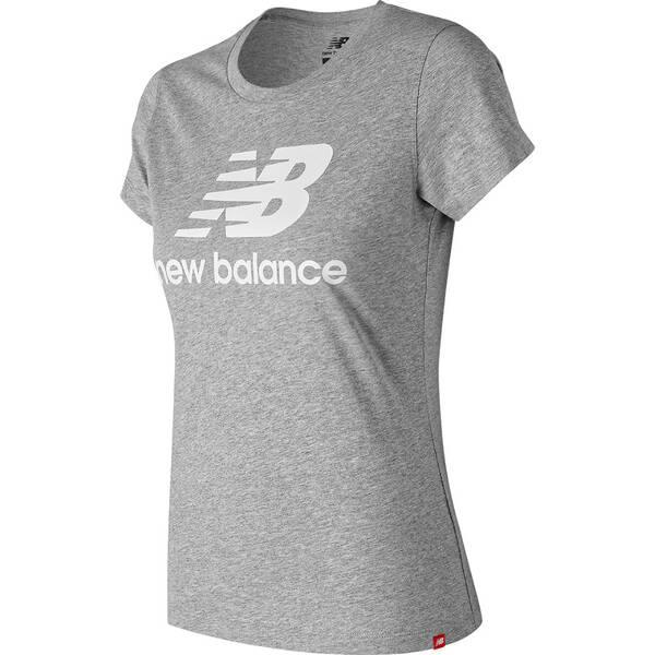 NEW BALANCE Damen T-Shirt ESSENTIALS STACKED LOGO