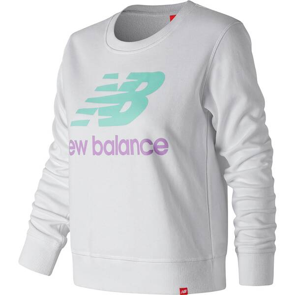 NEW BALANCE Damen Pullover ESSENTIALS CREW
