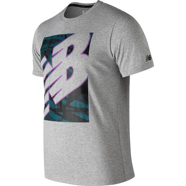 NEW BALANCE Herren T-Shirt NB HEATHERTECH T
