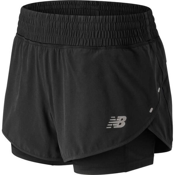 NEW BALANCE Damen Shorts IMPACT 4 IN