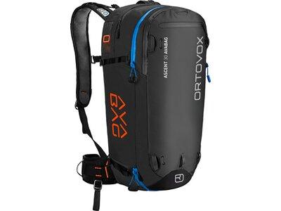 ORTOVOX Skitrucksack ASCENT 30 AVABAG Schwarz
