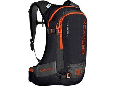 ORTOVOX Skirucksack FREE RIDER 26 L Schwarz