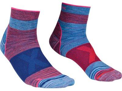 ORTOVOX Damen Socken ALPINIST QUARTER Blau