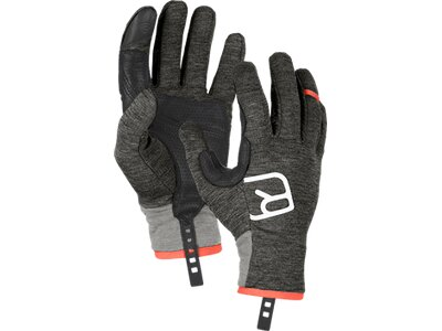 "ORTOVOX Herren Outdoor-Handschuhe ""Fleece Light"" Grau"