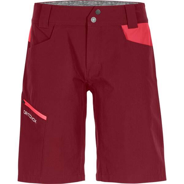 Hosen - ORTOVOX Damen Shorts PELMO SHORTS W › Rot  - Onlineshop Intersport