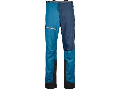 "ORTOVOX Herren Trekkinghose ""3L Ortler Pants M"" Blau"