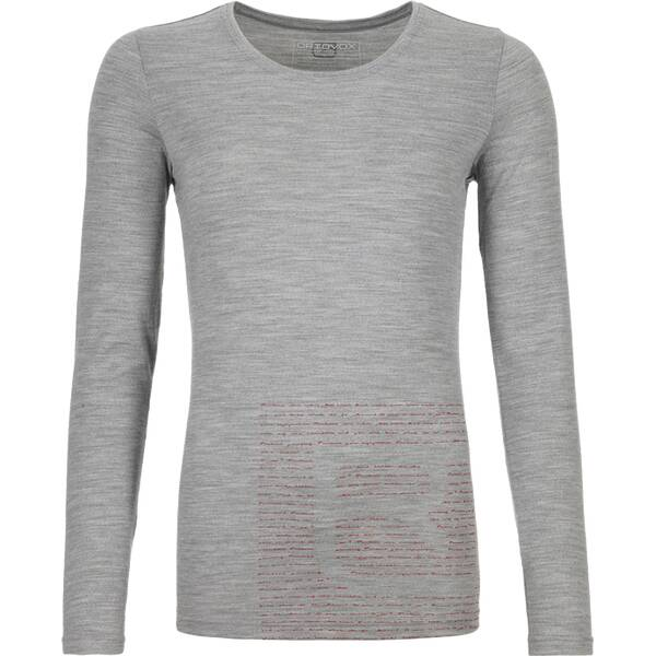 ORTOVOX Damen Unterhemd 185 MERINO LOGO LS