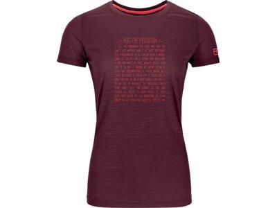 ORTOVOX Damen T-Shirt 150 COOL RULES T-SHIRT W Grau