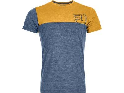 ORTOVOX Herren T-Shirt 150 COOL LOGO T-SHIRT M Blau