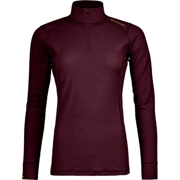 ORTOVOX Damen Longsleeve 145 ULTRA ZIP NECK