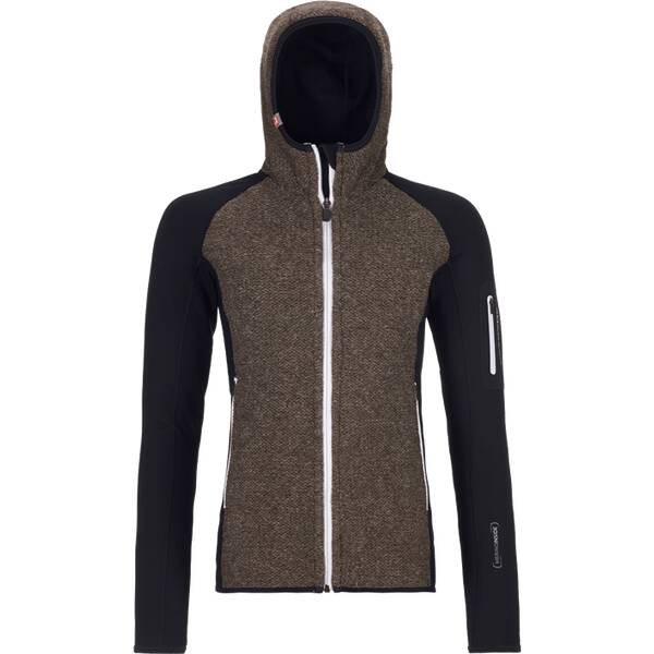 ORTOVOX Damen Hoodie FLEECE PLUS CLASSIC KNIT