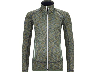 ORTOVOX Damen Unterjacke FLEECE SPACE DYED Grau