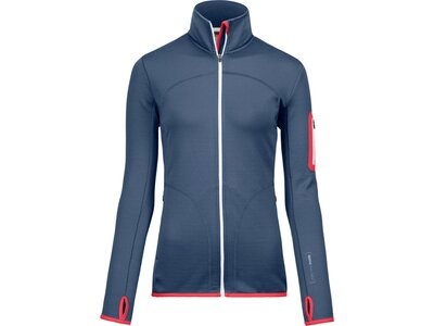 ORTOVOX Damen Jacke FLEECE Blau