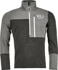 ORTOVOX Herren Fleeceshirt FLEECE LIGHT ZIP NECK