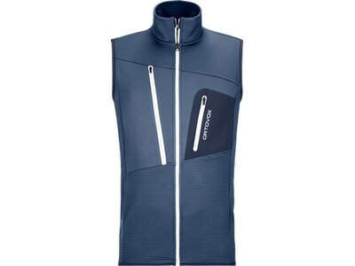 ORTOVOX FLEECE GRID VEST M Grau