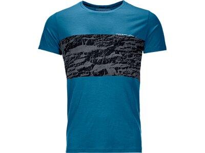 ORTOVOX Herren T-Shirt 120 TEC T-SHIRT M Blau