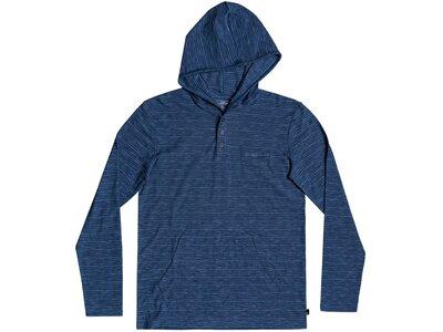 QUIKSILVER Kinder T-Shirt KENTINHOODYTH B KTTP Blau