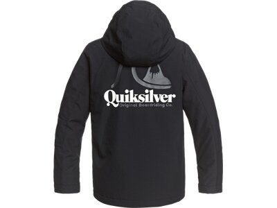 QUIKSILVER Kinder Funktionsjacke IN THE HOOD Weiß